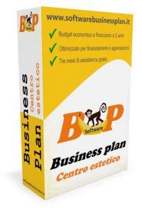 software business plan centro estetico