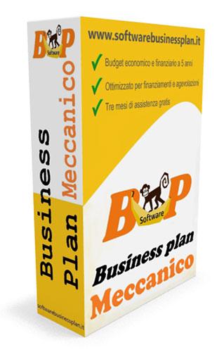Business plan meccanico