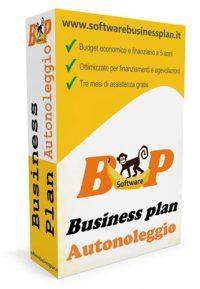 business plan autonoleggio