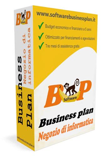 Business Plan Negozio di Informatica