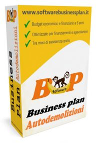 business plan autodemolizioni