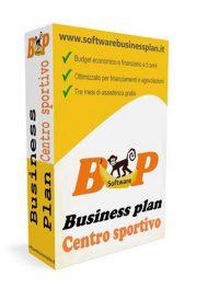 Business plan centro sportivo