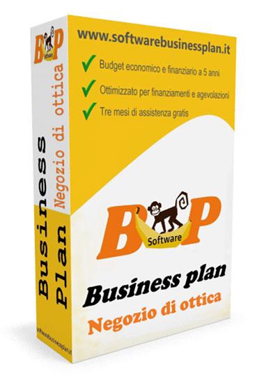 Business plan negozio di ottica