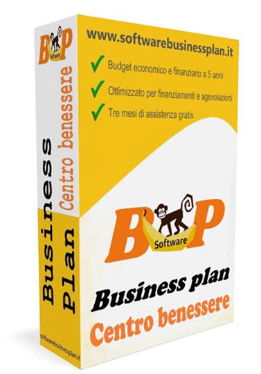 Business plan centro benessere