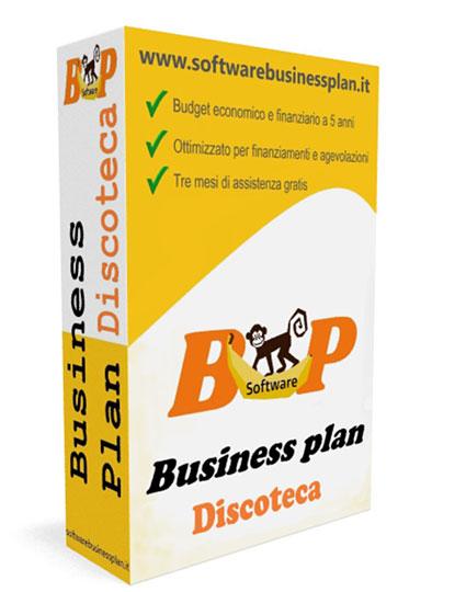 Business plan per discoteca