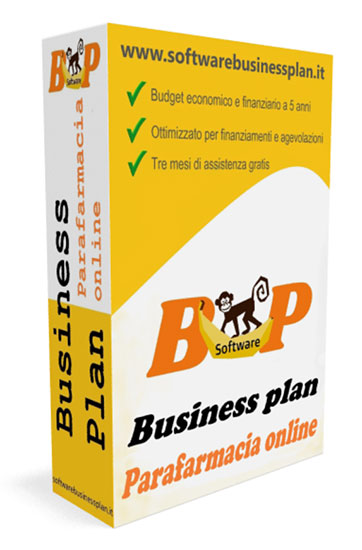 Business plan per parafarmacia online